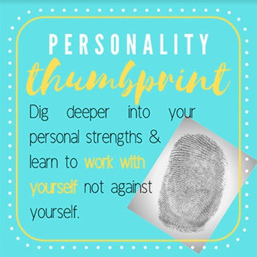 Your Personality Thumbprint