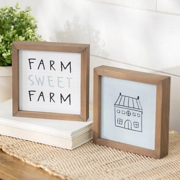 Love Lives Here Box Frames