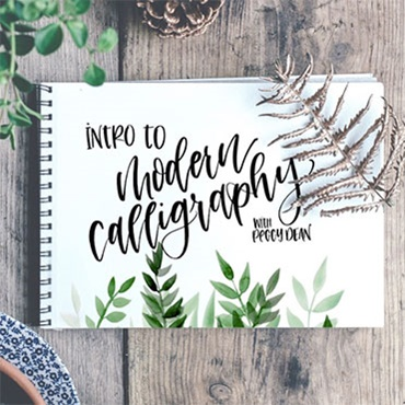 Intro to Modern Calligraphy (PRE-REGISTRATION FULL)