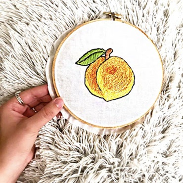 Introduction to Embroidery: Georgia Love