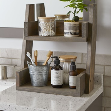 Two-Tiered Shelf by The Home Depot