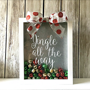 Jingle All The Way Shadow Box