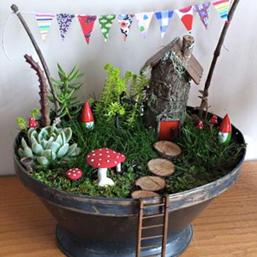 Design Your Own Fairy Garden