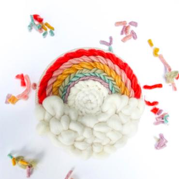 Round Weaving 101 - Rainbow