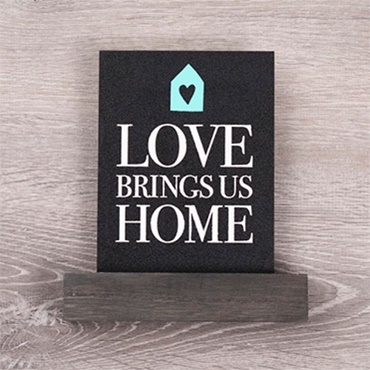Chalk Couture: Love Brings Us Home
