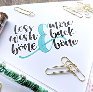 Hand Lettering 101 - All The Basics